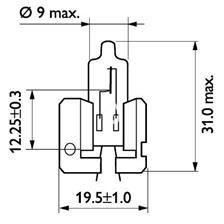 ŻARÓWKA H2 12V 100W X511 /BOLI/
