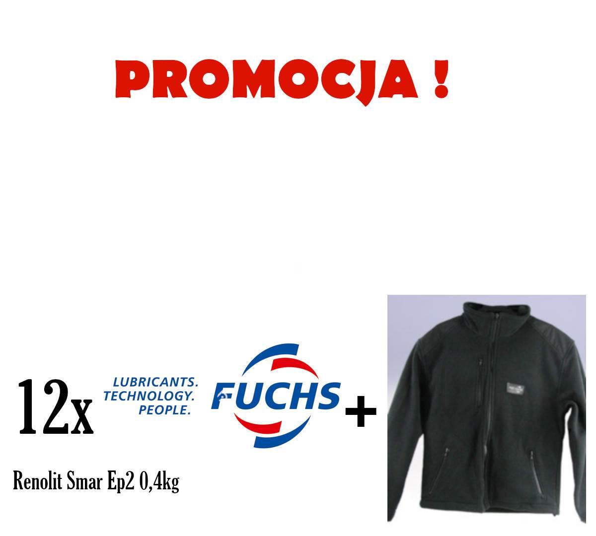 PROMOCJA FUCHS RENOLIT SMAR EP 2 0,4KG. 12SZT + POLAR FUCHS