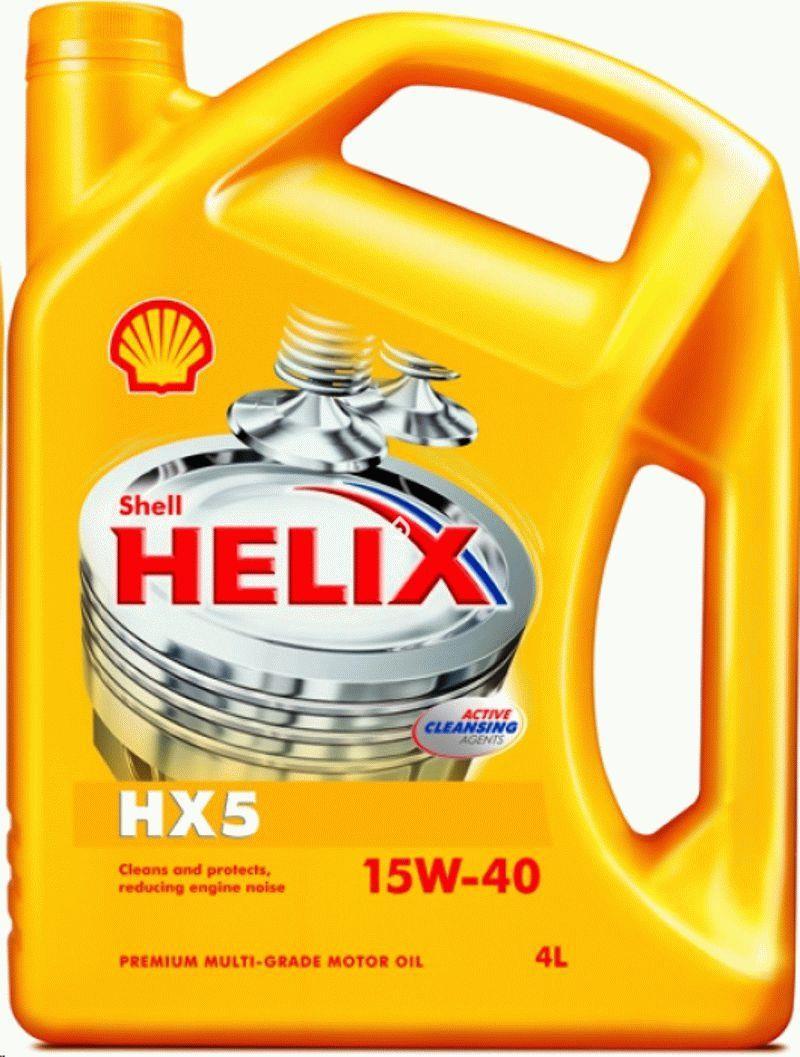 SHELL 15W40 4L. HELIX HX5