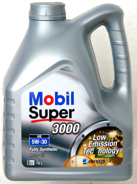 MOBIL 5W30 4L. SUPER 3000 XE SILNIKOWY OLEJ SYNTETYCZNY