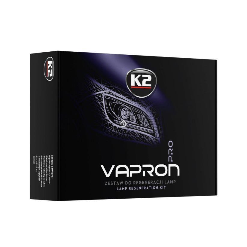 K2 VAPRON PRO D7900 ZESTAW DO REGENERACJI REFLEKTORÓW, POWŁOK POLIWĘGLANOWYCH